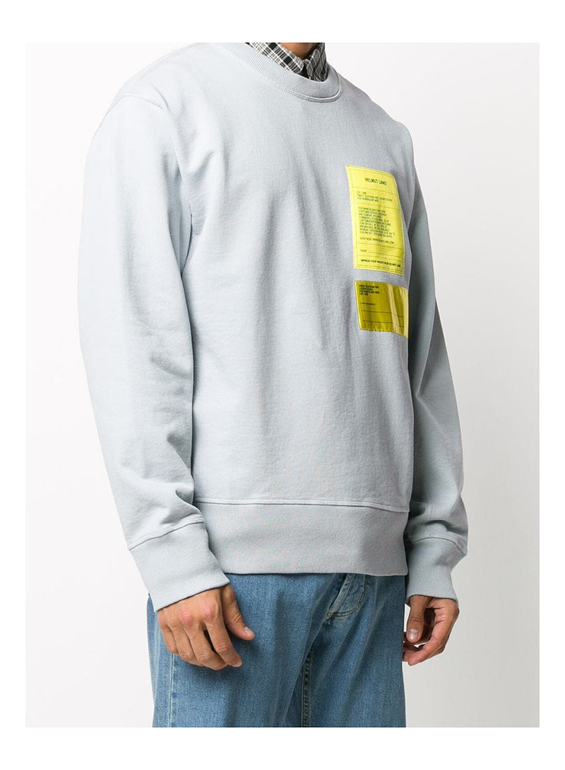 Masc Crewneck Sweat - Mechanical Grey