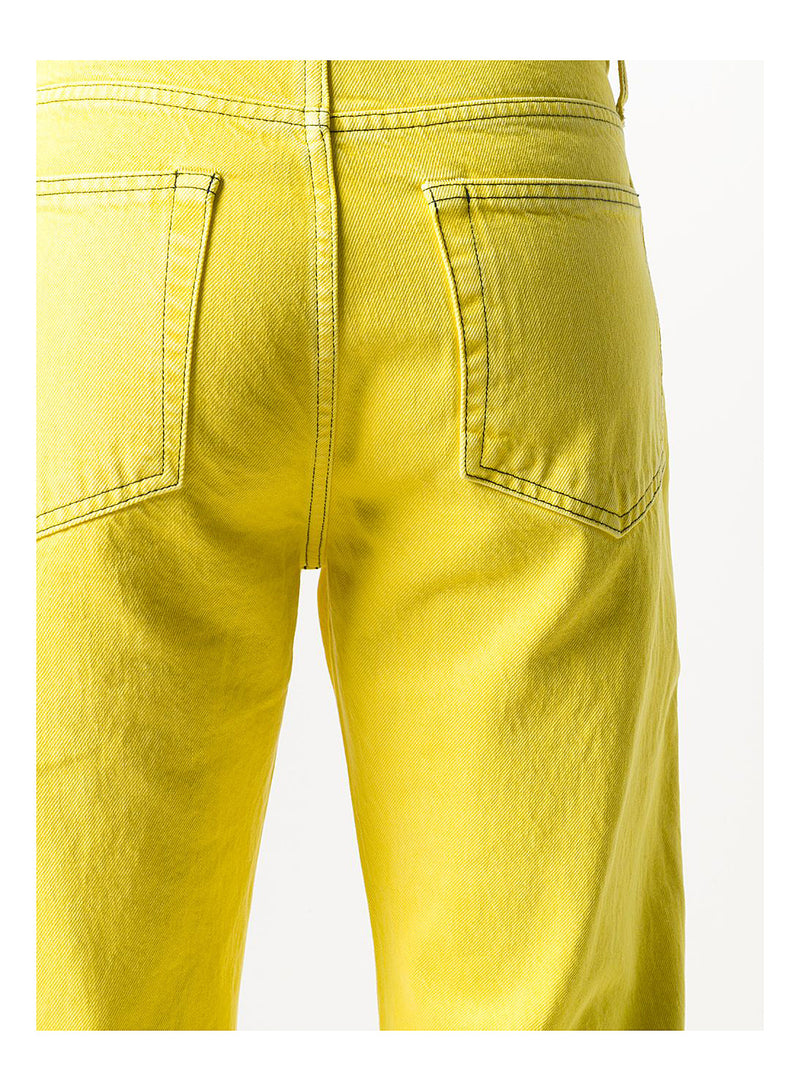 Masc Lo Easy Jeans - Sodium Yellow Stone
