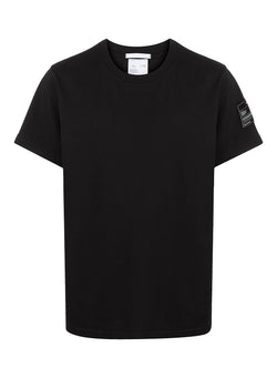 helmut lang patch tee basalt black ss 2021
