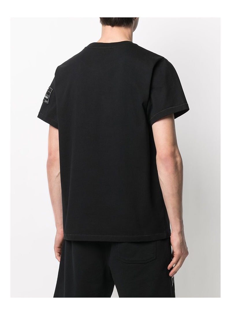 Patch Tee - Basalt Black