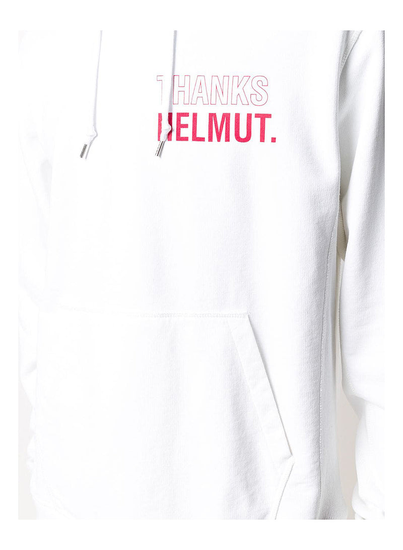 Thank Helmut Hoody   - Chalk White