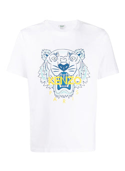 kenzo classic tiger tee white ss 2020