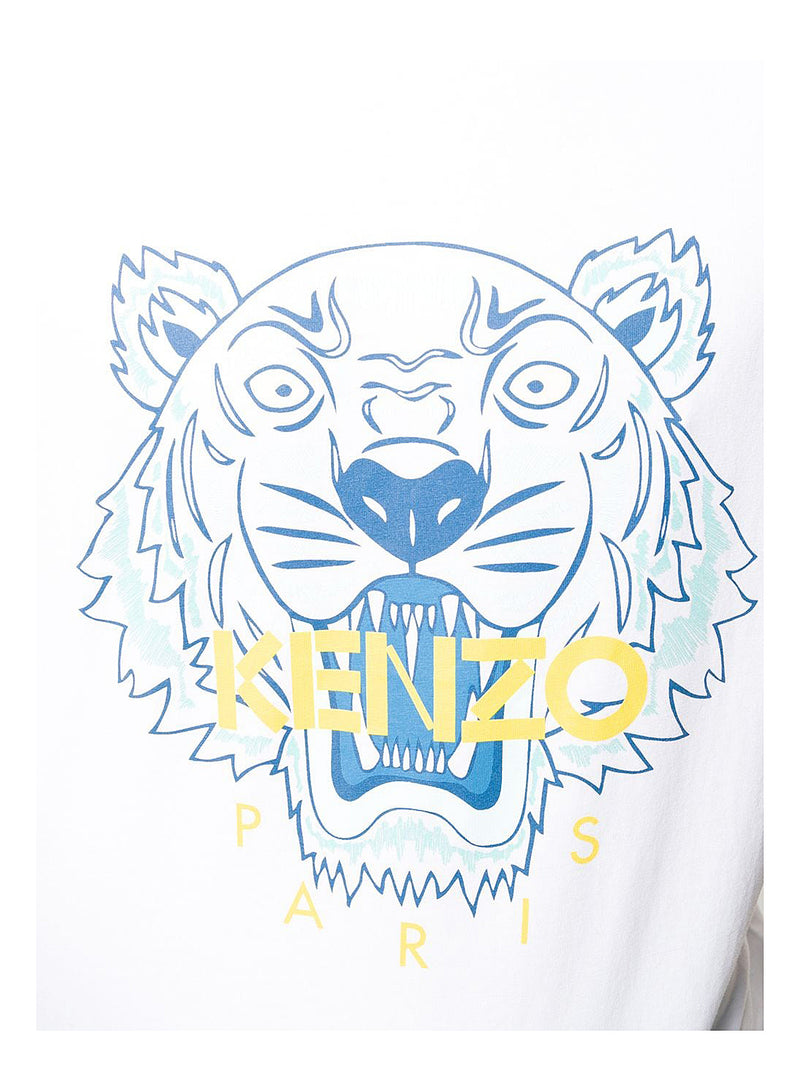 Classic Tiger Tee - White