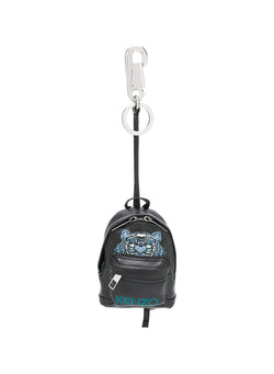 kenzo backpack tiger keyring black aw 2020