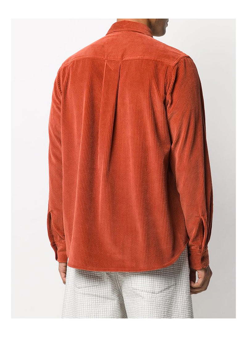 Casual Cord Shirt - Orange