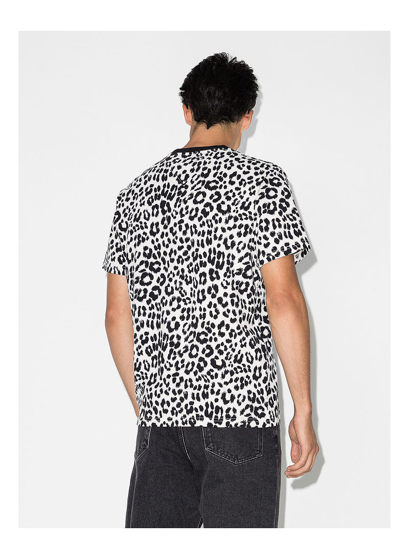 Guepard Overdyed Tee - Grey/Black