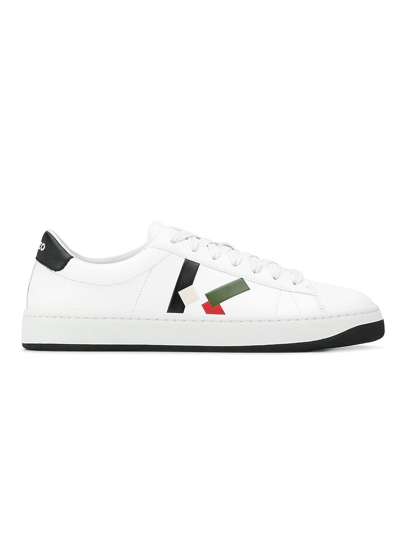 kenzo klace up sneakers white black aw 2020
