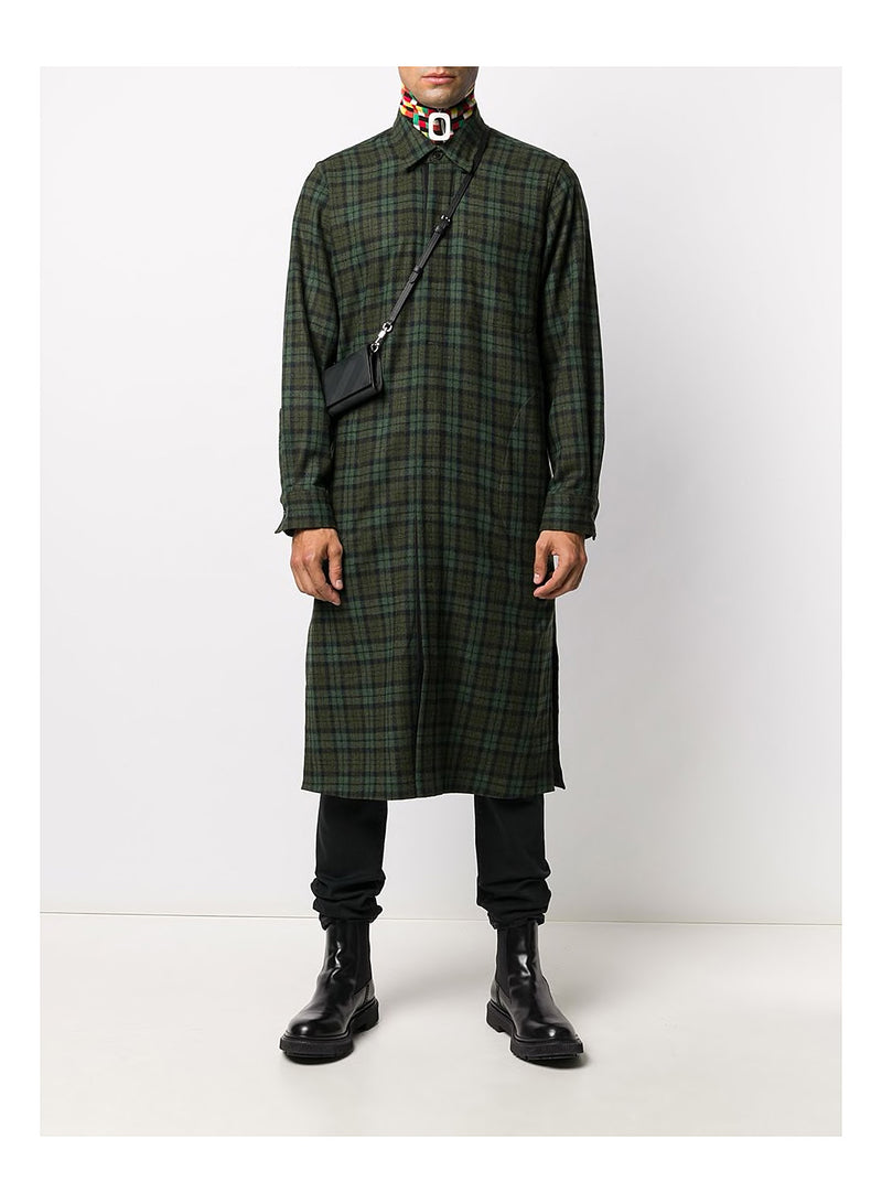 Long Overshirt - Green