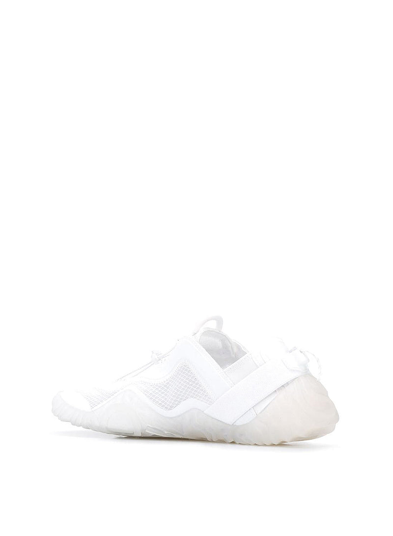 Low Wave Top Sneakers - White