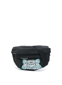 kenzo mini tiger head bumbag black aw 2020