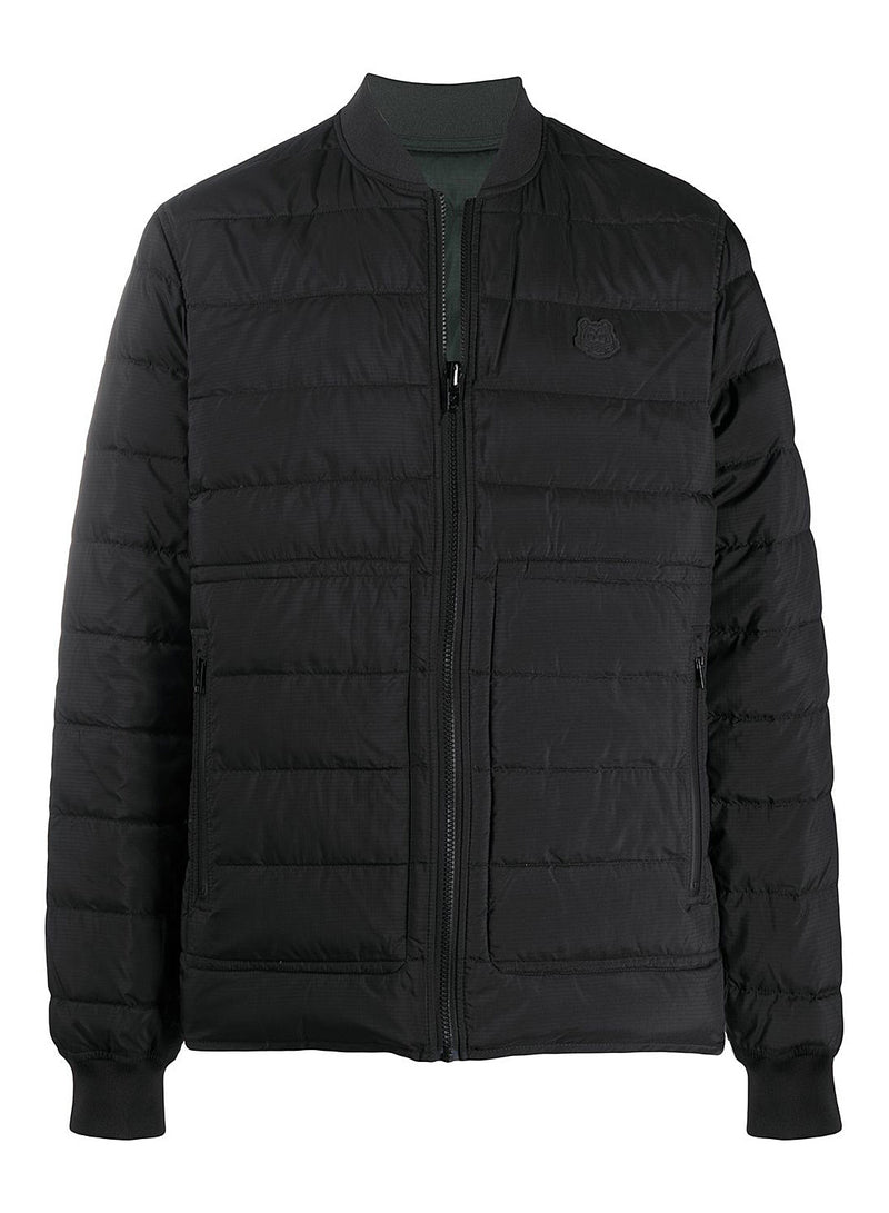 kenzo packable reversible padded jacket black olive aw 2020