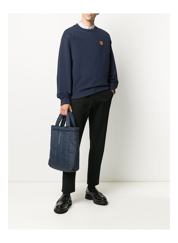 Tiger Crest crewneck Sweat - Navy