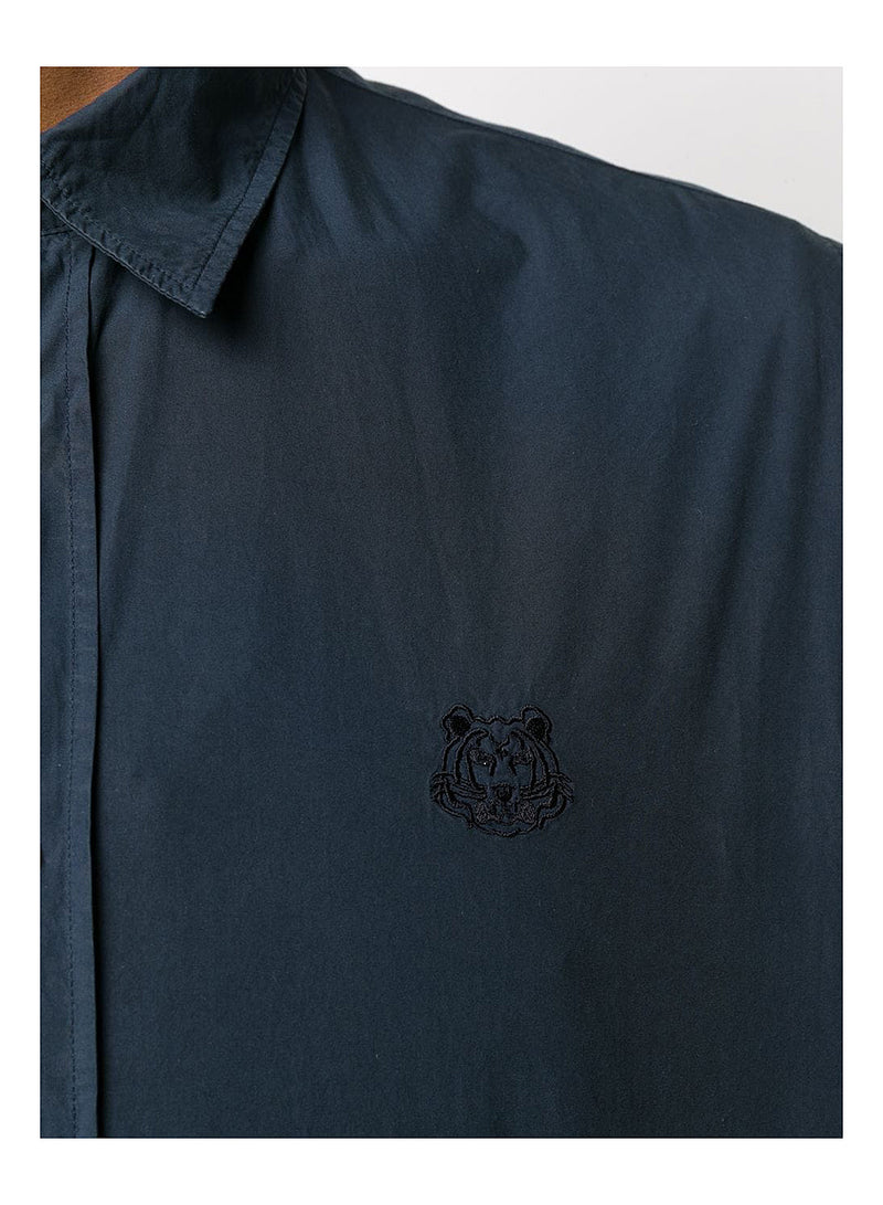 Tiger Crest Shirt - Navy