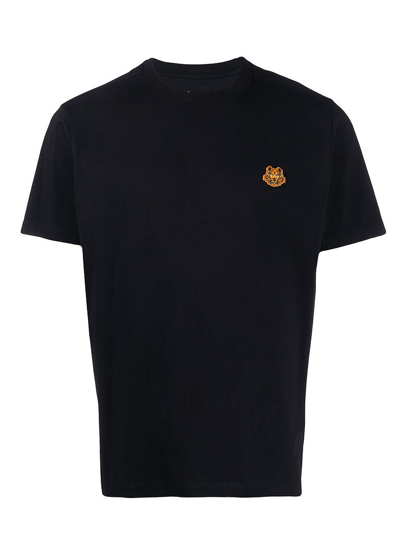 kenzo tiger crest tee black aw 2020