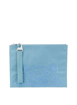 kenzo tiger head tablet pouch blue steel aw 2020