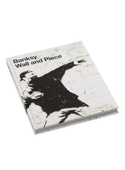 lifestyle books banksy wall and piece white ss 2021