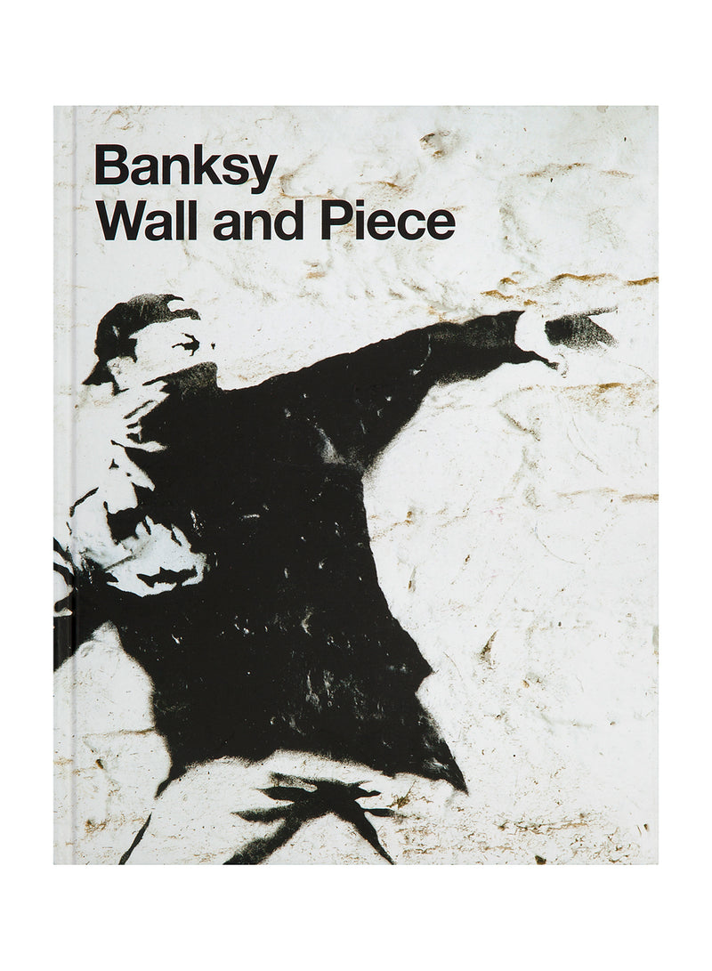 Banksy Wall and Piece - White