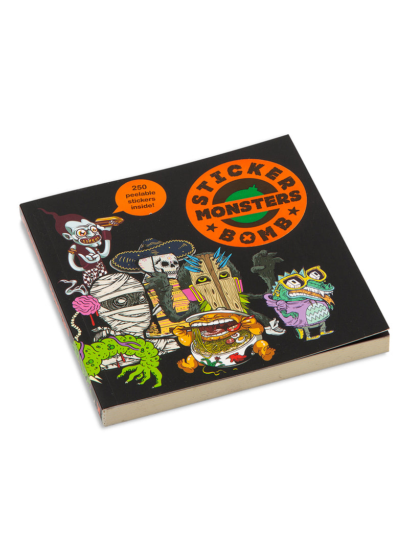 lifestyle books stickerbomb monsters black ss 2021