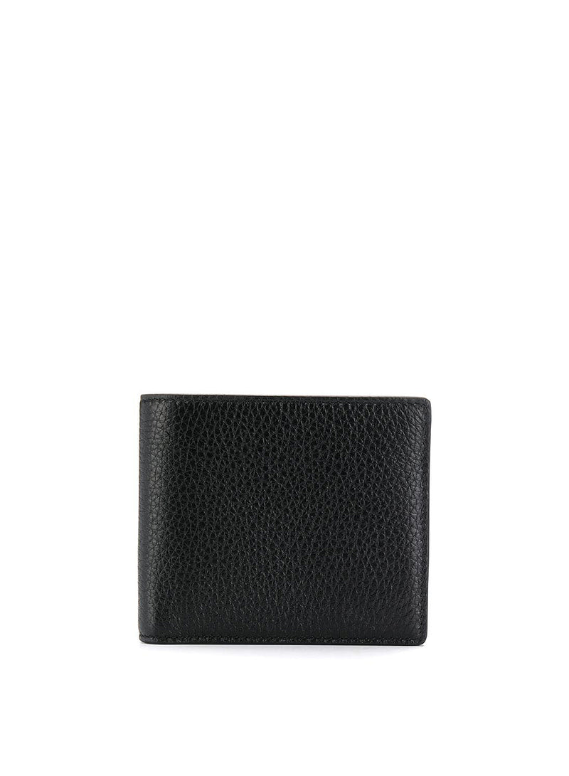 Reverse Label Wallet - Black