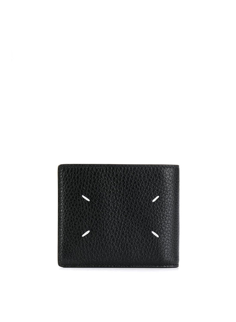 maison margiela reverse label wallet black ss 2020