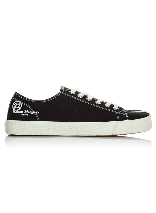 maison margiela tabi low top sneaker black ss 2020