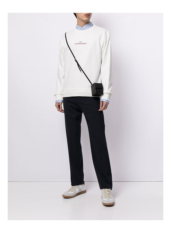 Compact Central Logo Sweat - Off White