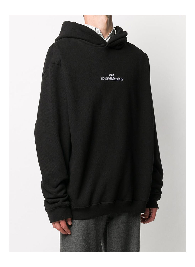 Diagonal Hoody - Black