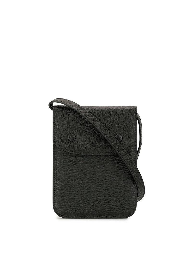 maison margiela leather articulated shoulder bag black ss 2021