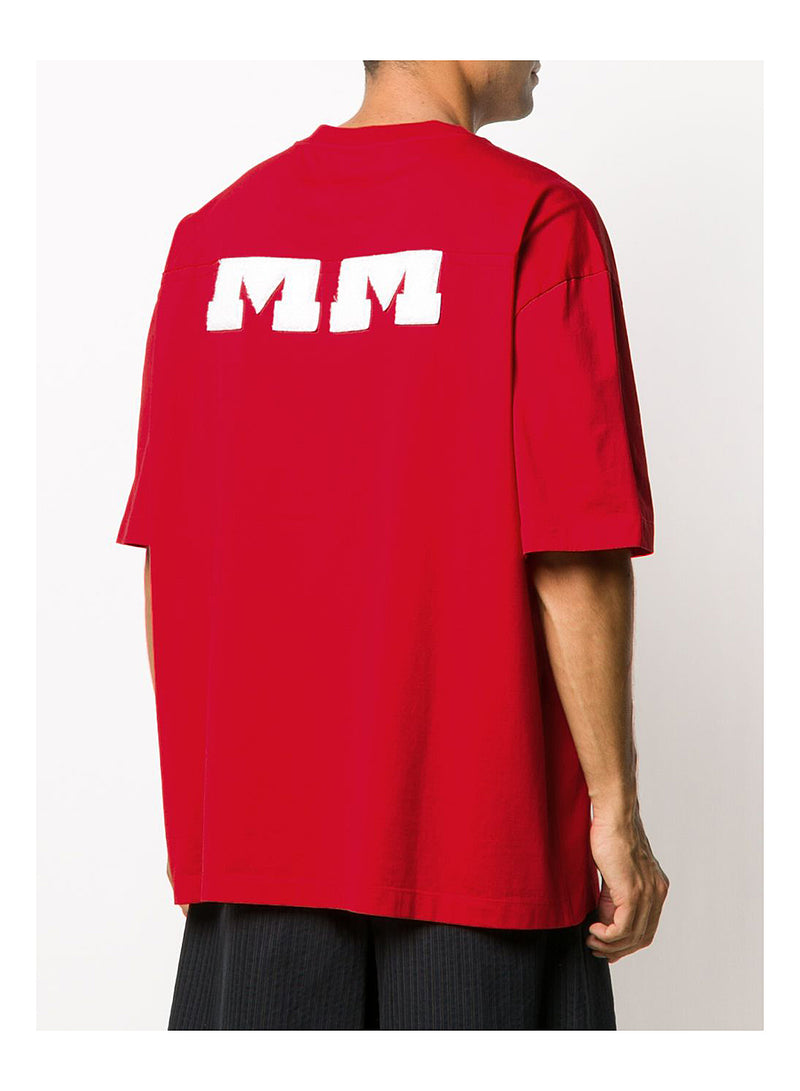 Mako Cotton Jersey Tee - Red