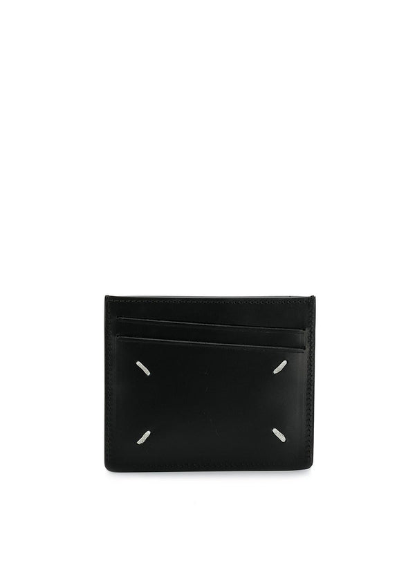 Reverse Lable Cardholder - Black