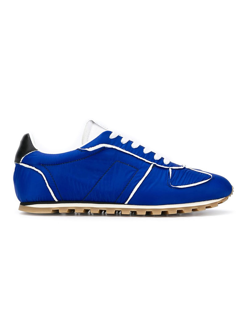 maison margiela runner trainer blue black white aw 2020