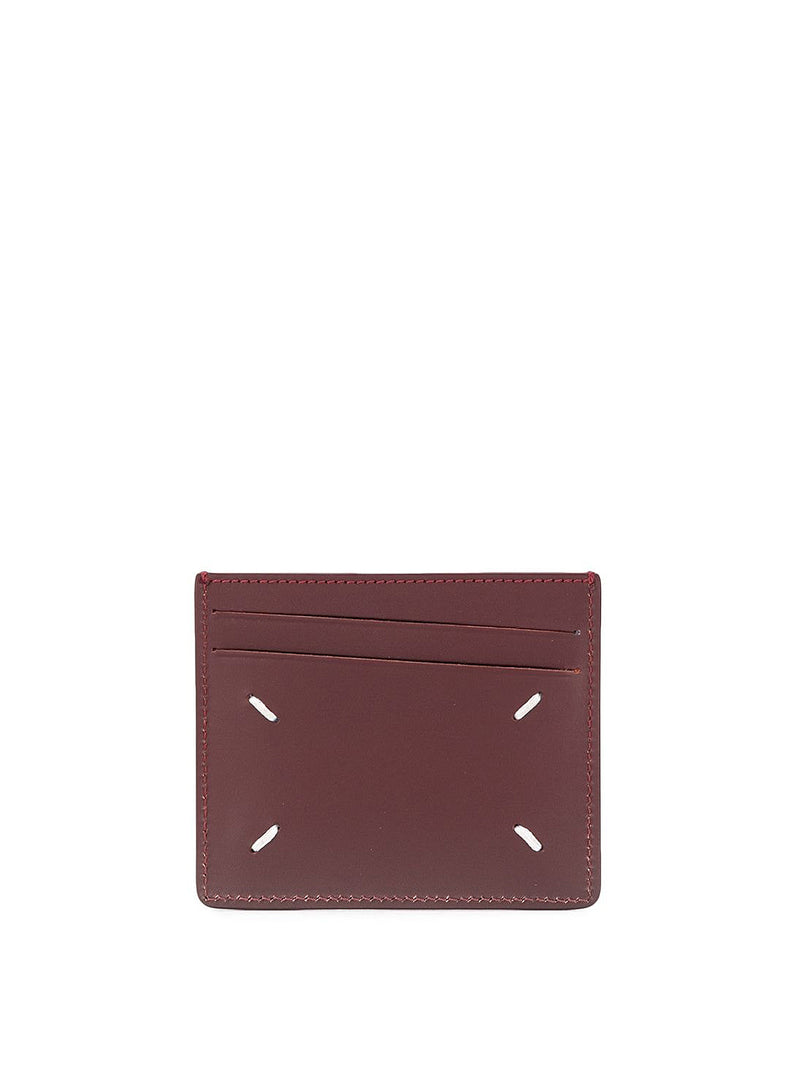 Vacchetta Leather Wallet - Cordovan Red