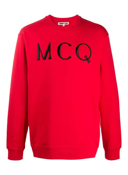mcq by alexander mcqueen mcq sweat riot red aw 2020