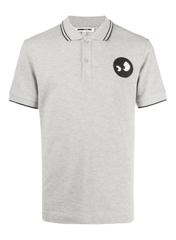 mcq by alexander mcqueen monster polo shirt mercury melange aw 2020