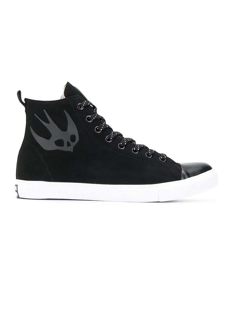 mcq by alexander mcqueen orbyt mid trainer black aw 2020