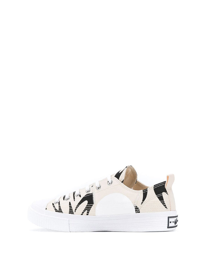 Swallow Lo Cut Up Trainer - Oyster/Black