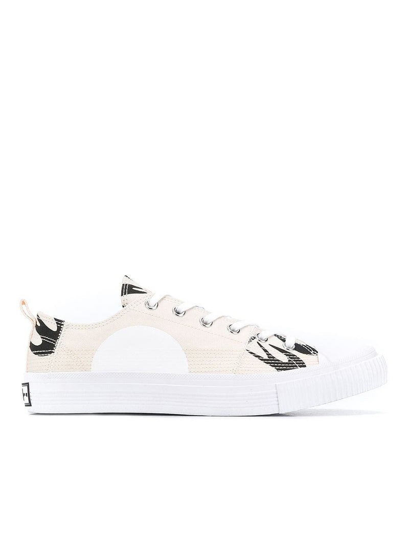 mcq by alexander mcqueen swallow lo cut up trainer oyster black aw 2020
