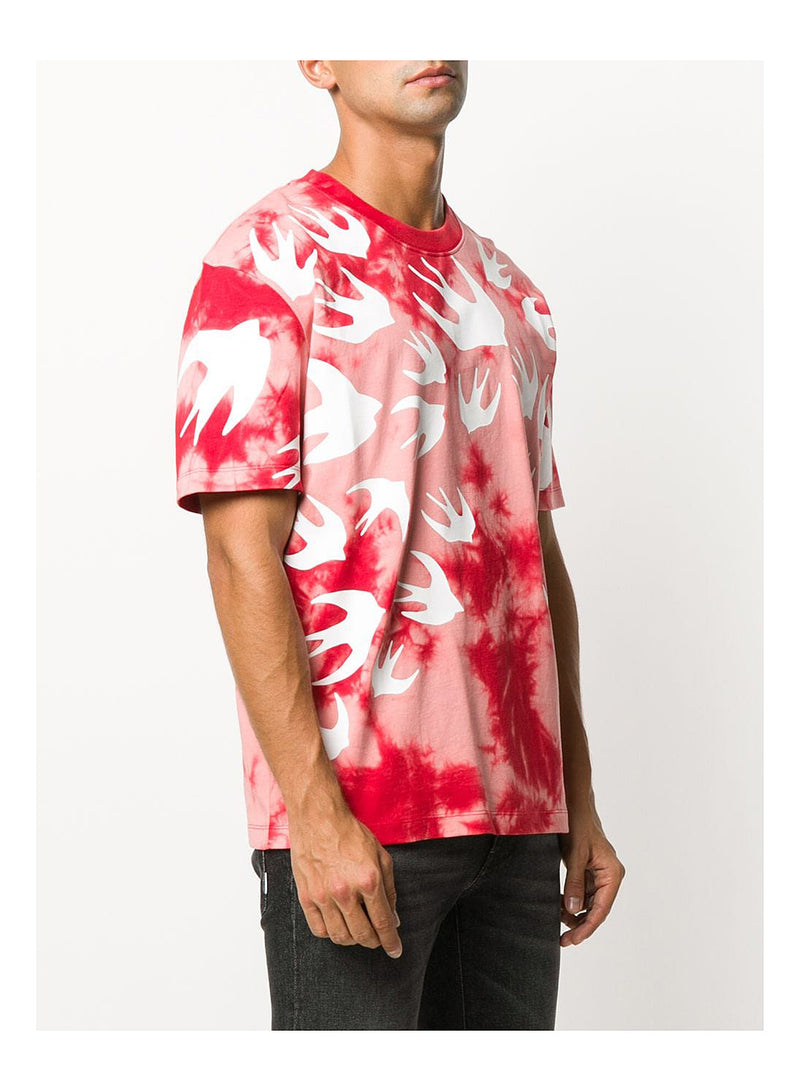 Swallow Tye Dye Tee - Riot Red