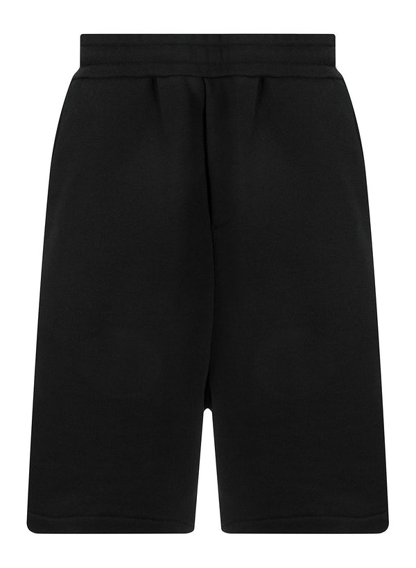 mcq by alexander mcqueen taped sweatshorts darkest black ss 2020