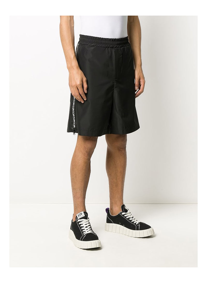 Zippy Sweat Shorts - Darkest Black