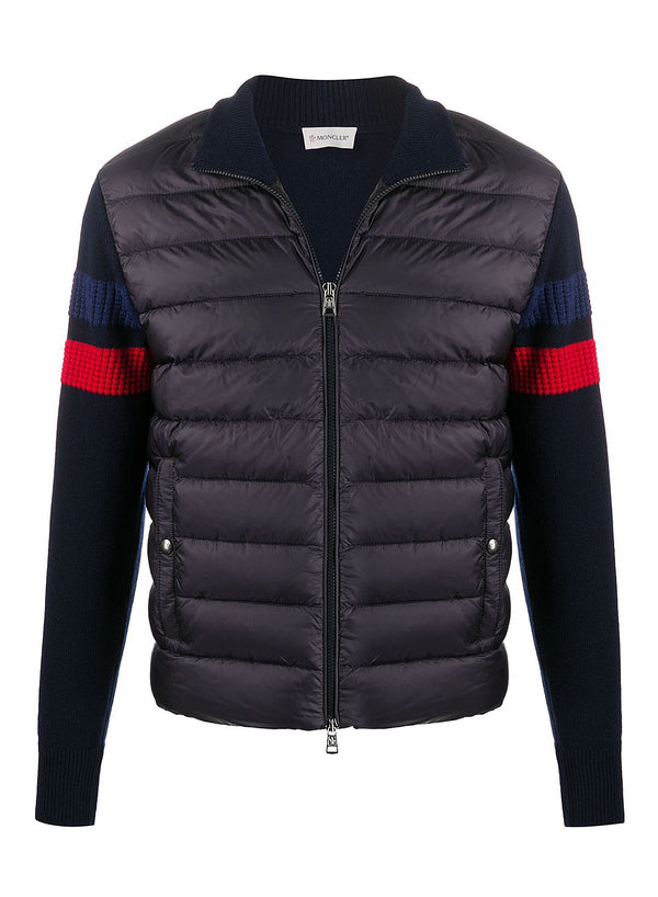 moncler cardigan tricot navy aw 2020