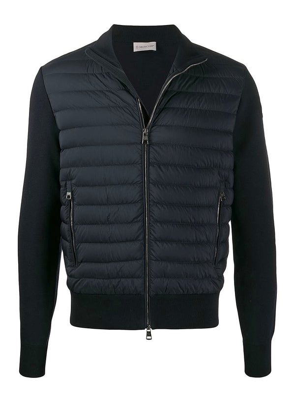 moncler down fronted tracktop navy ss 2020