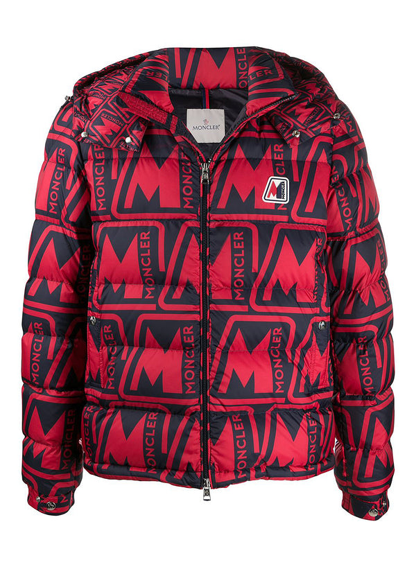 moncler frioland jacket red navy aw 2020