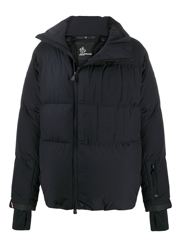 moncler grenoble arvier jacket black aw 2020