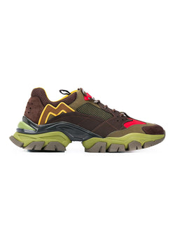 moncler leave no trace trainers olive yellow aw 2020