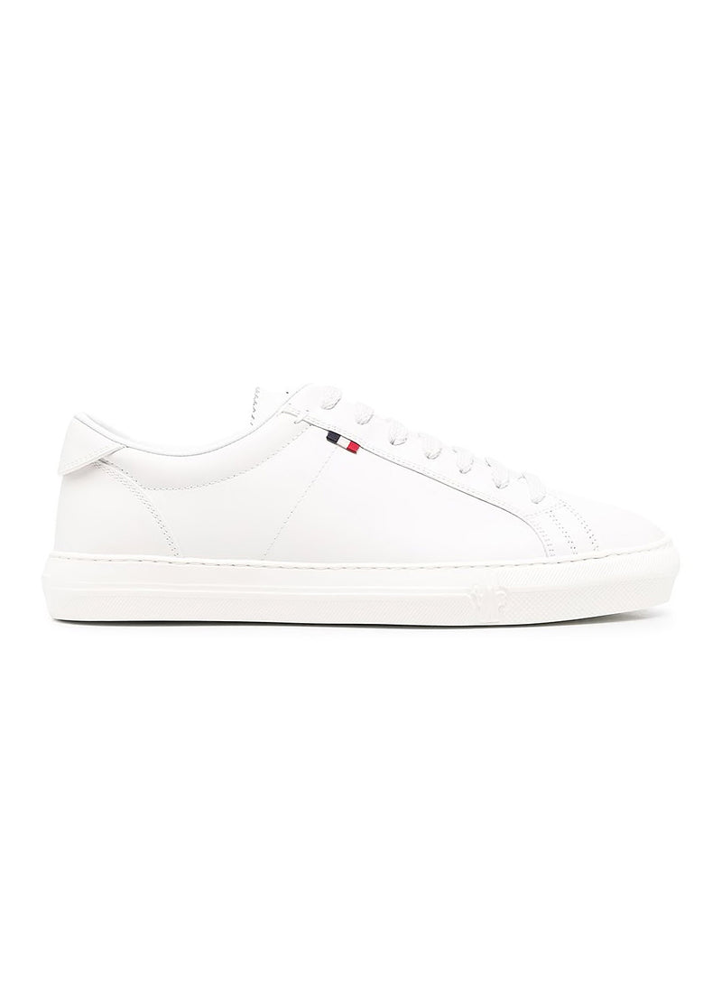moncler new monaco clean trainers white aw 2020