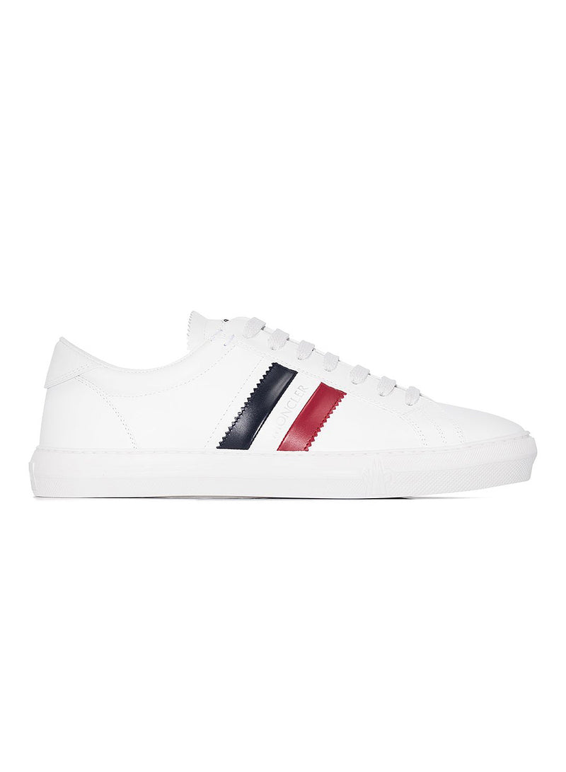 moncler new monaco tricolor trainer white multi ss 2021