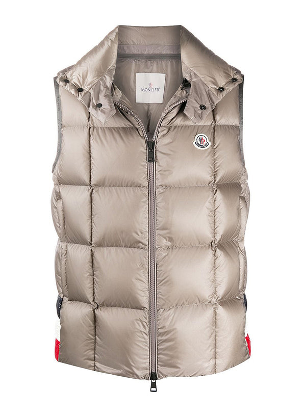 moncler rochefort gilet grey aw 2020