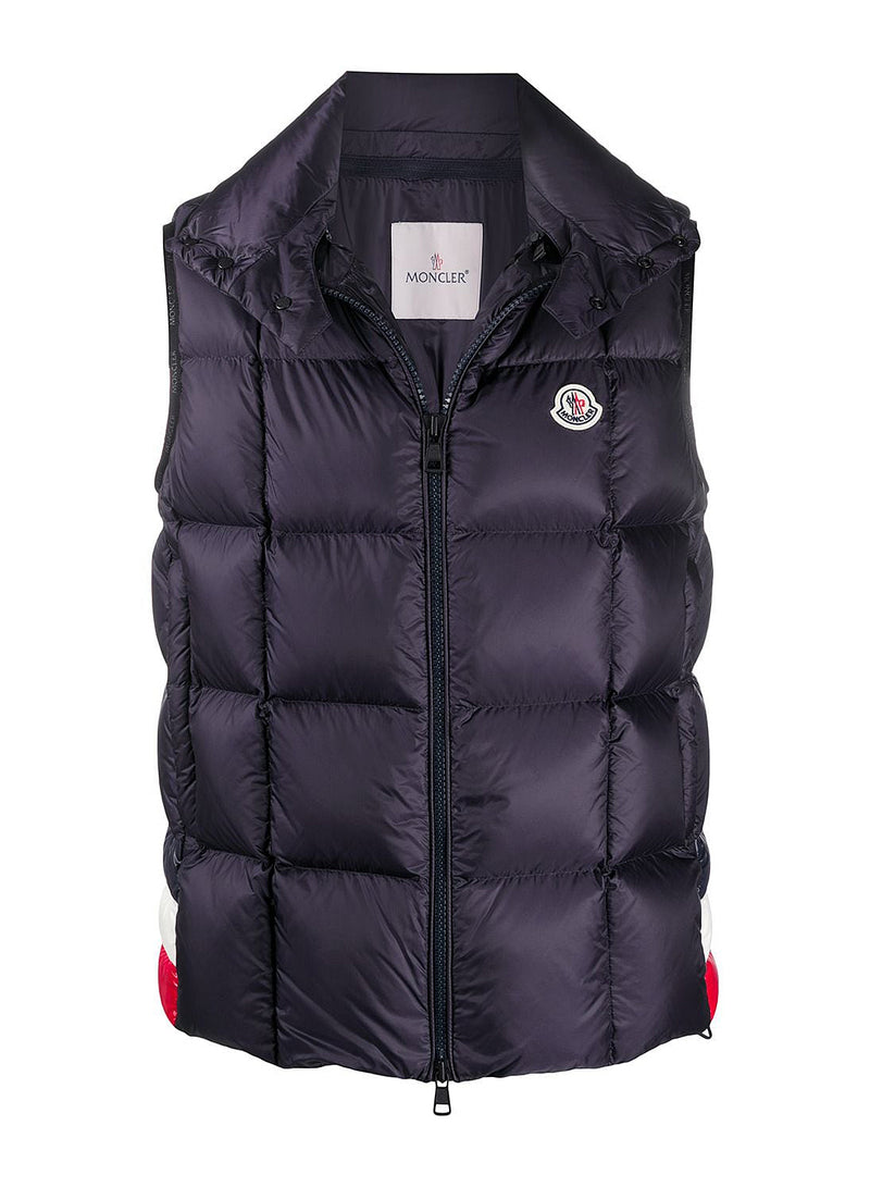 moncler rochefort gilet navy aw 2020