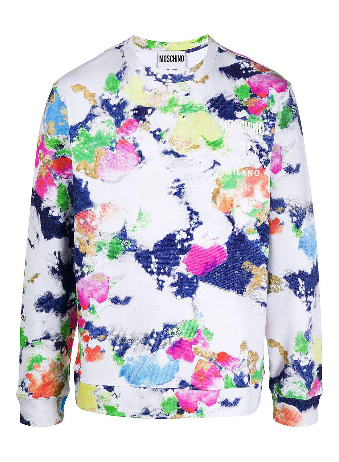 moschino colour splatter sweat fantasy print ss 2020